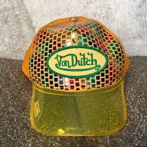 RARE Vintage Von Dutch 90's trucker cap hat
